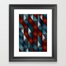Pattern #5 Tiles Framed Art Print