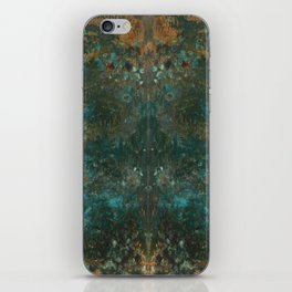 Rorschach Patina #1 iPhone Skin