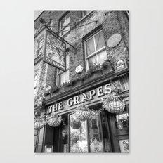 The Grapes Pub London Canvas Print