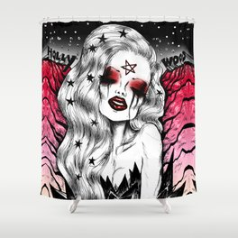 Hollywood Spell Shower Curtain