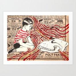 confidant Art Print