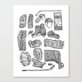 Hockey Life! Canvas Print