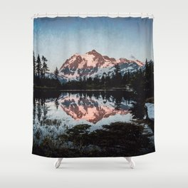 End of Days - Nature Photography Shower Curtain