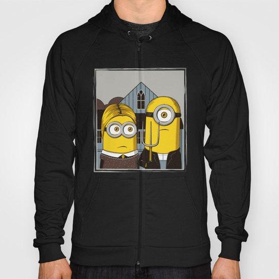 Minion Gothic Hoody