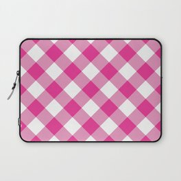 Gingham - Pink Laptop Sleeve