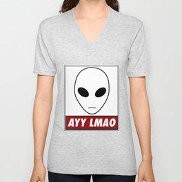 Ayy Lmao Unisex V-Neck