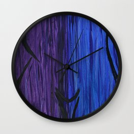 juxtapose 2 Wall Clock