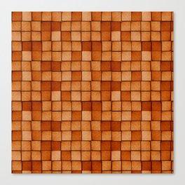 Wood Blocks-Maple Canvas Print