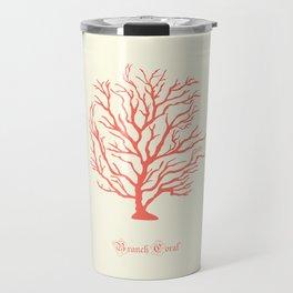 AFE Branch Coral, Living Coral Travel Mug