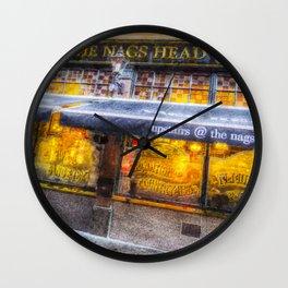 The Nags Head Pub Covent Garden London Wall Clock