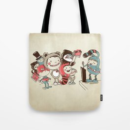 Costume Party Tote Bag