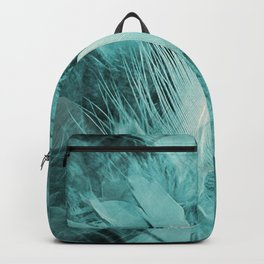 Feather Abstract Backpack