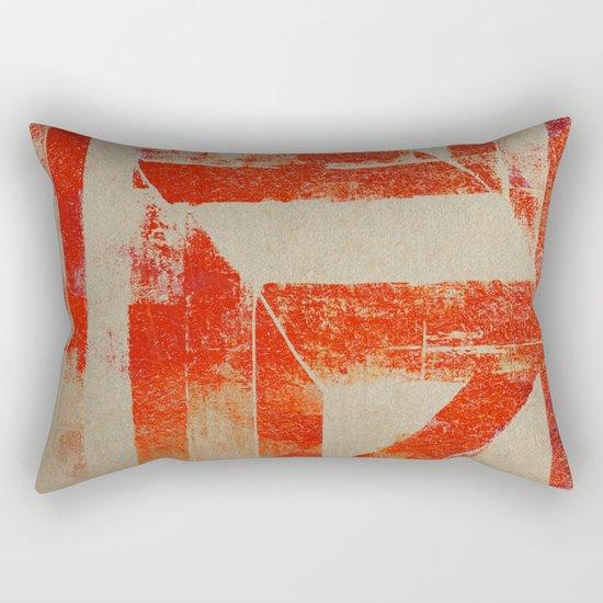 Ink Roller Rectangular Pillow