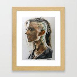 MJ Part 1 - Cressida Drawing Framed Art Print