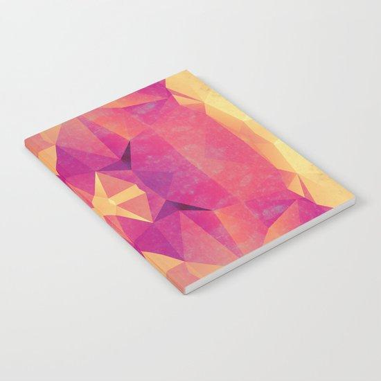 RETRO PINK GEOMETRY Notebook