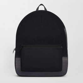 Untitled (Black on Grey) by Mark Rothko HD Backpack
