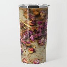 Dried Flowers Travel Mug