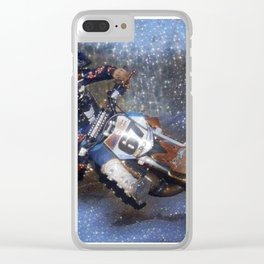 """"""" Stardust """" Clear iPhone Case"""