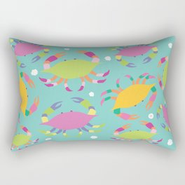 Crabs Rectangular Pillow