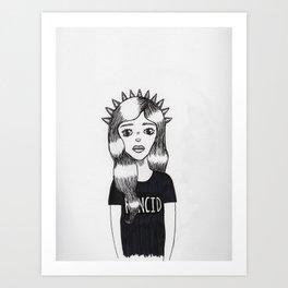 Molly (Every Man Has One) Art Print