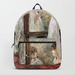 Berthe Morisot - The Cheval-Glass - Digital Remastered Edition Backpack