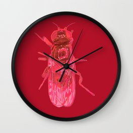 Eye Gnat Wall Clock