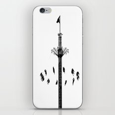 Way up high iPhone & iPod Skin