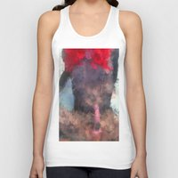redhead Tank Tops featuring Redhead by TARA SCHLAYER