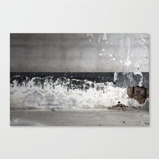 Decaying Wall Canvas Print