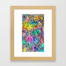 Sweet Fuzz Framed Art Print