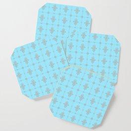 Encore Deco (light blue-silver) Coaster