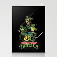 tmnt Stationery Cards featuring TMNT by Neal Julian