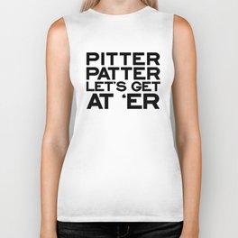 PITTER PATTER Biker Tank