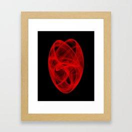 Bends Unraveling II Framed Art Print