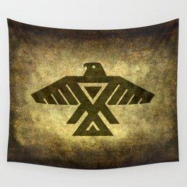 Symbol of the Anishinaabe, Ojibwe (Chippewa) on  parchment Wall Tapestry