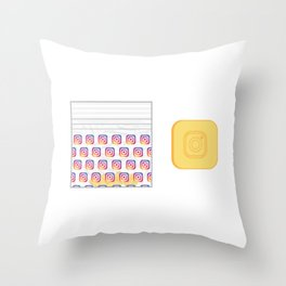 IG User Throw Pillow