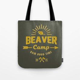 Beaver Camp: Dam Good Time Tote Bag