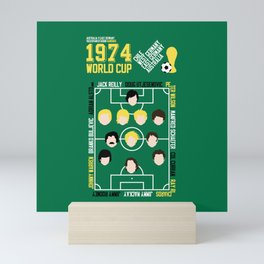 Where It All Began 1974 Australia v East Germany Mini Art Print