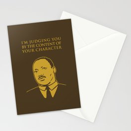 Content of Character Stationery Cards