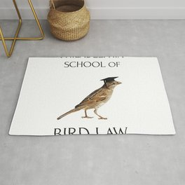 Philadelphia School of Bird Law Rug