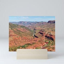 Salt River Canyon Panorama Mini Art Print