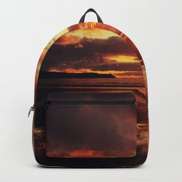 Love,walks and Sunsets Backpack