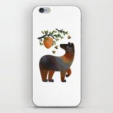 Bear With Bee iPhone & iPod Skin