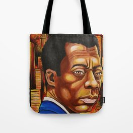James Baldwin: The Fire Next Time Tote Bag
