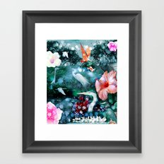 Mystical Morning Framed Art Print