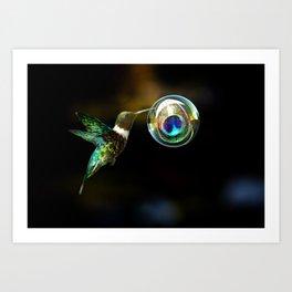New Nectar Art Print