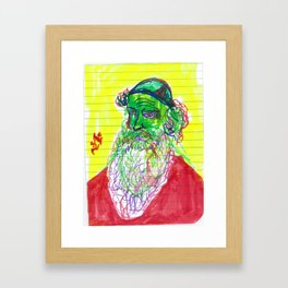 The Alter Rebbe Framed Art Print