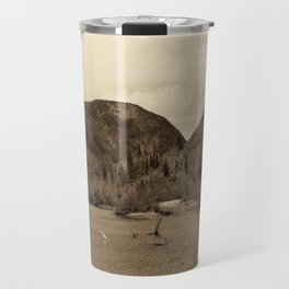 Crawford Notch-Sepia Travel Mug