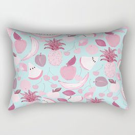 Fruit Punch Blush I Rectangular Pillow