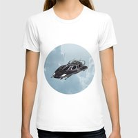 spaceship T-shirts featuring Spaceship by Design Windmill